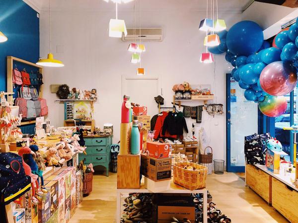 3 boutiques enfants à Chueca vivre madrid