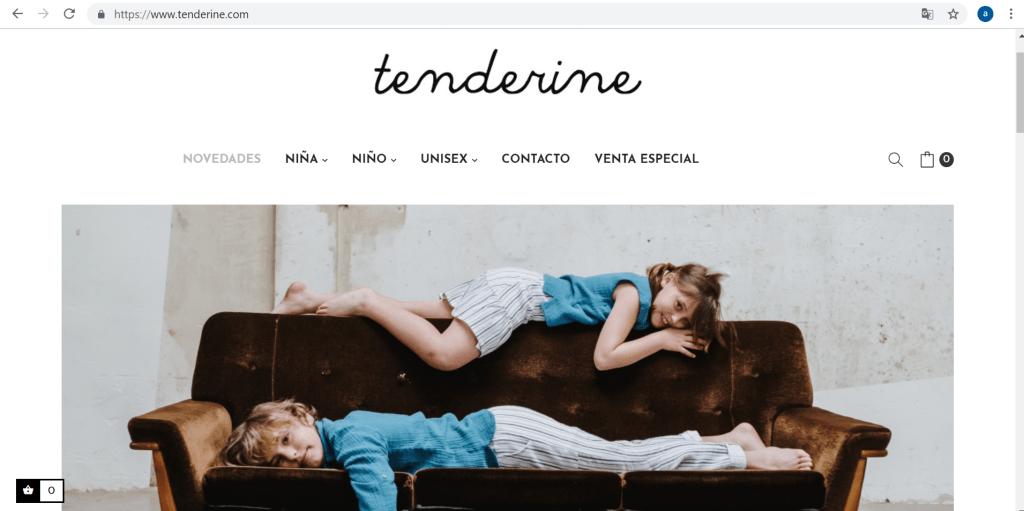 Tenderine- marques espagnoles de vêtements enfants