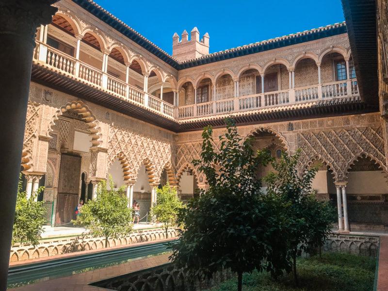 Visiter Séville Alcazar