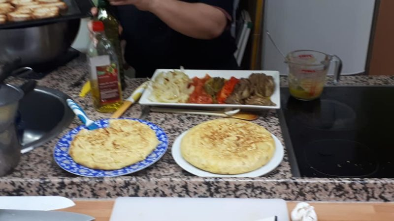 recette de la tortilla