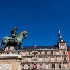 Visiter Madrid en 1 jour plaza mayor