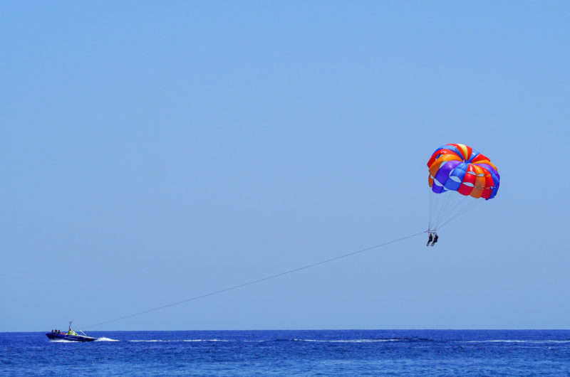 Parachute ascensionnel nerja
