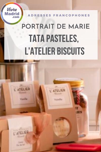 Tata Pasteles adresse francophone à Madrid