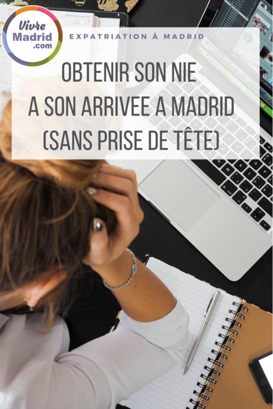 comment obtenir son NIE facilement à Madrid