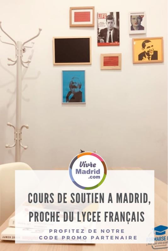 Cours de soutien à Madrid proche lycée français