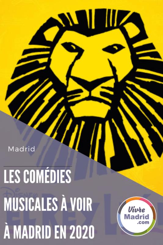 comédies musicales à Madrid en 2020