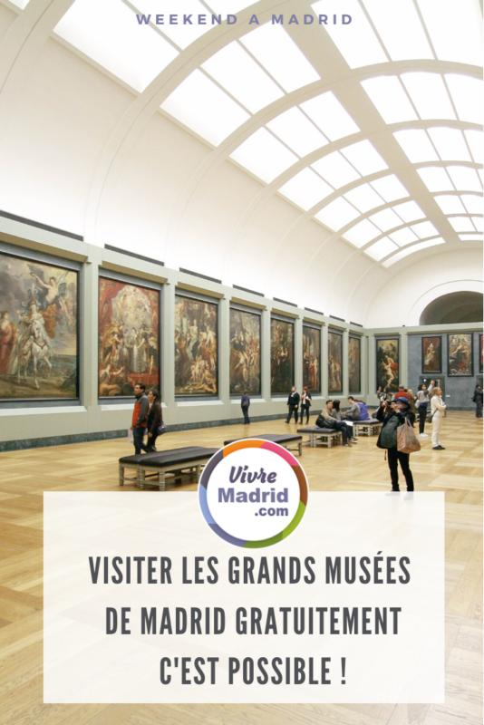 visiter les musées gratuits à Madrid