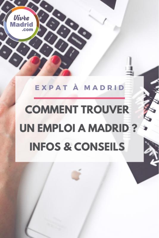 trouver un travail à Madri quand on est francophones