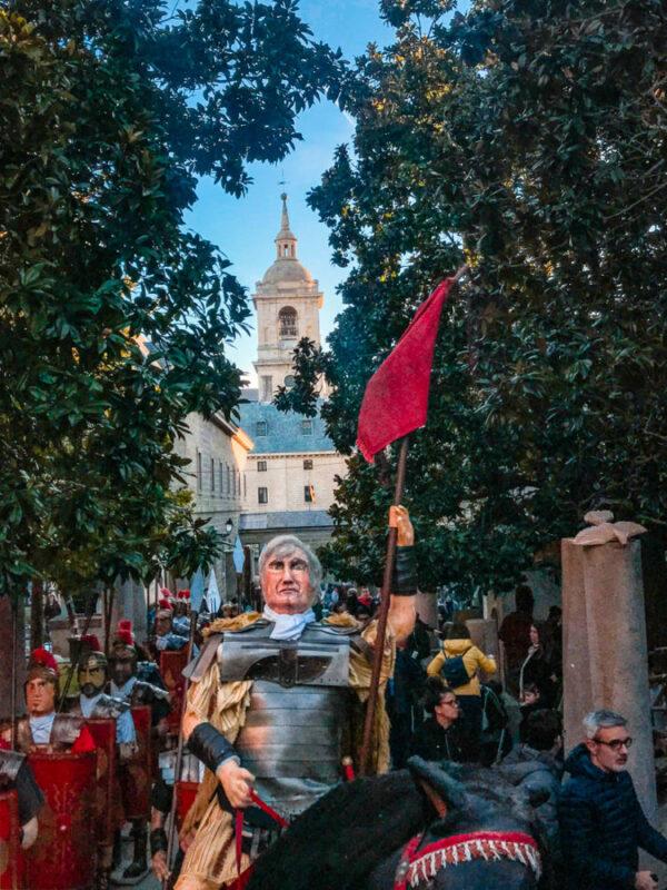 El Escorial - Noël en Espagne