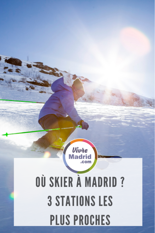 où skier à madrid: 3 stations les plus proches