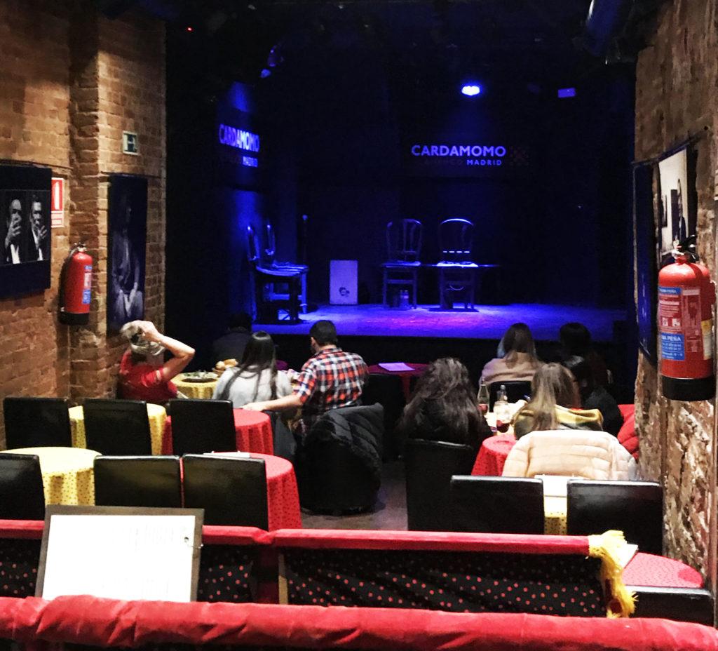 bon spectacle de flamenco à Madrid