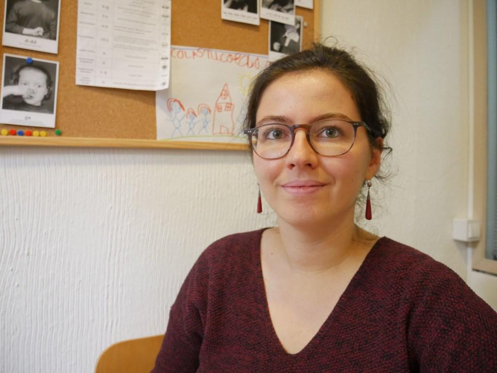 Anne-Laure Thomann, orthophoniste à Madrid