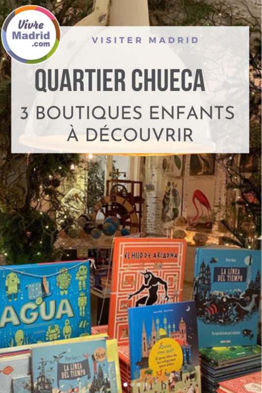boutiques enfants à Chueca