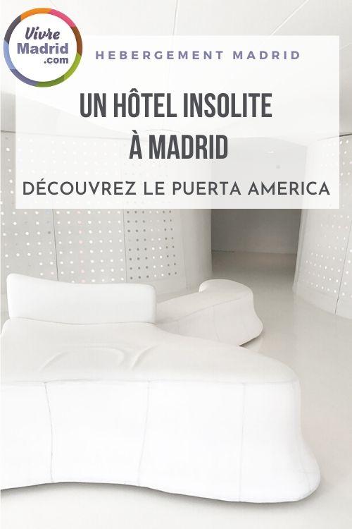 hôtel insolite à Madrid