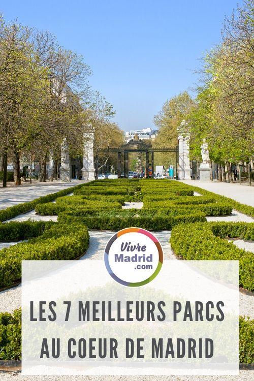 7 meilleures parcs à Madrid