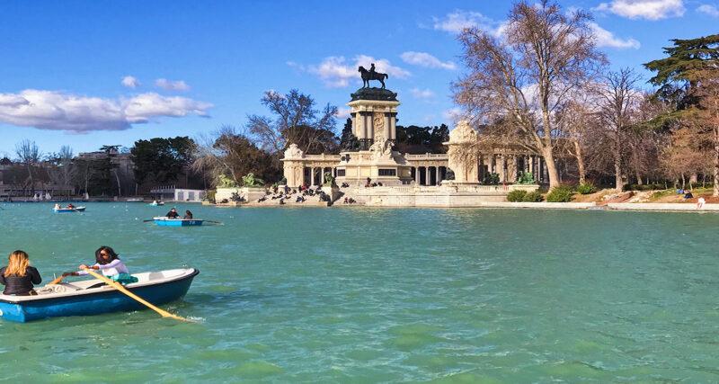 parcs à Madrid rétiro
