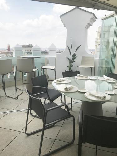 rooftop à Madrid hyper centre