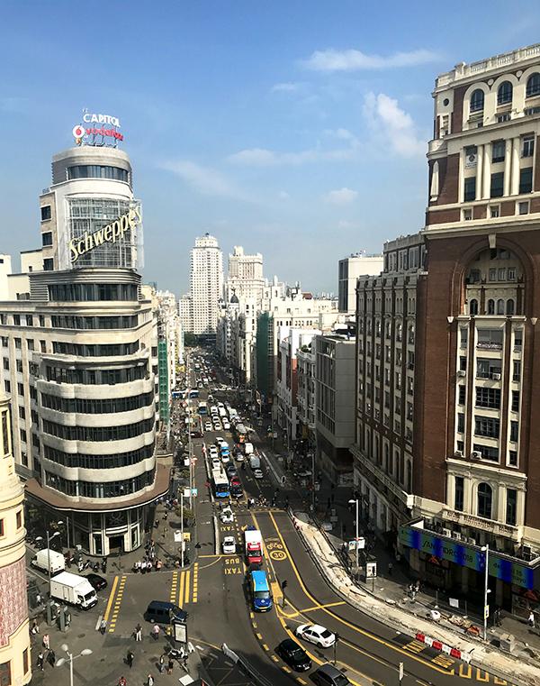 Rooftop à Madrid hyper centre - corte ingles