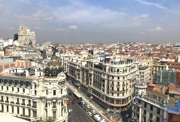 rooftop à Madrid hypercentre