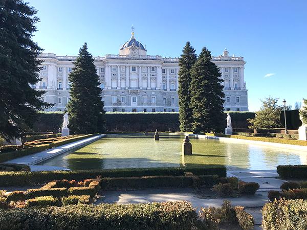 parcs à Madrid- Visiter le Palais royal de Madrid
