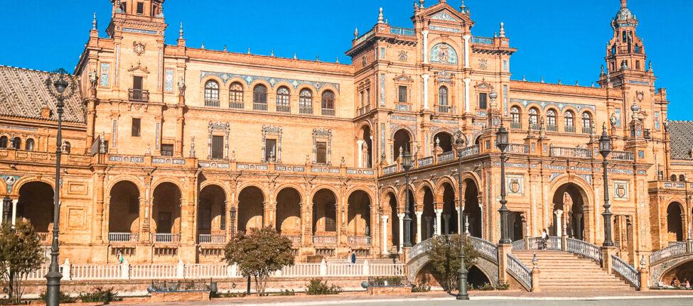 Visiter Séville Plaza de Espana