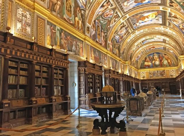 Bibliothèque monastere san lorenzo del escorial