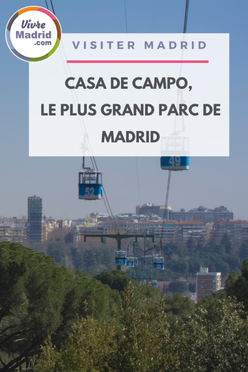 Visiter Casa de Campo le plus grand parc de Madrid