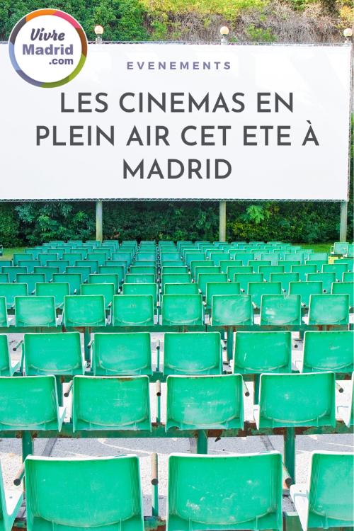 cinemas en plein Madrid