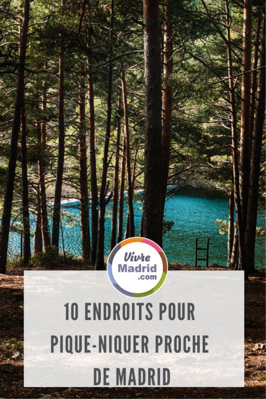 10 lieux pour pique-niquer autour de Madrid