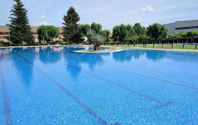 piscine municipale Madrid