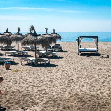 plage estepona voyager en Espagne COVID