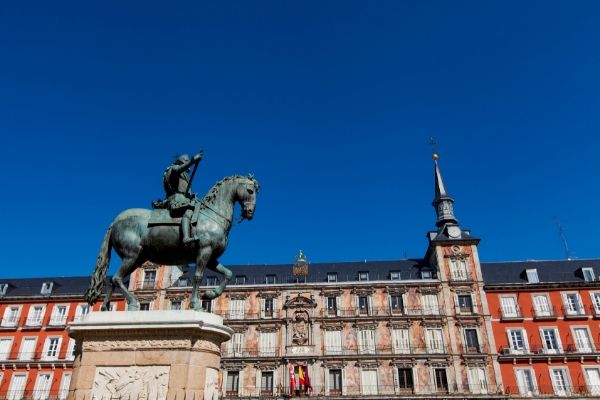 Visiter Madrid en 1 jour plaza mayor