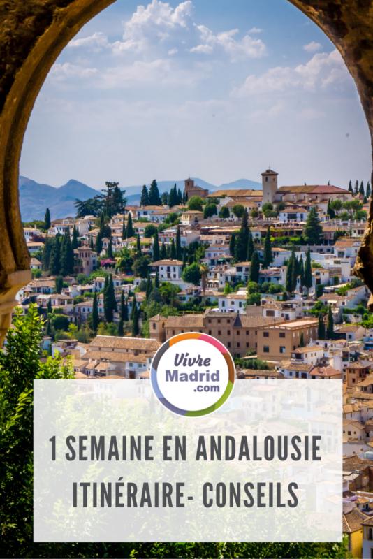 road-trip en Andalousie en une semaine