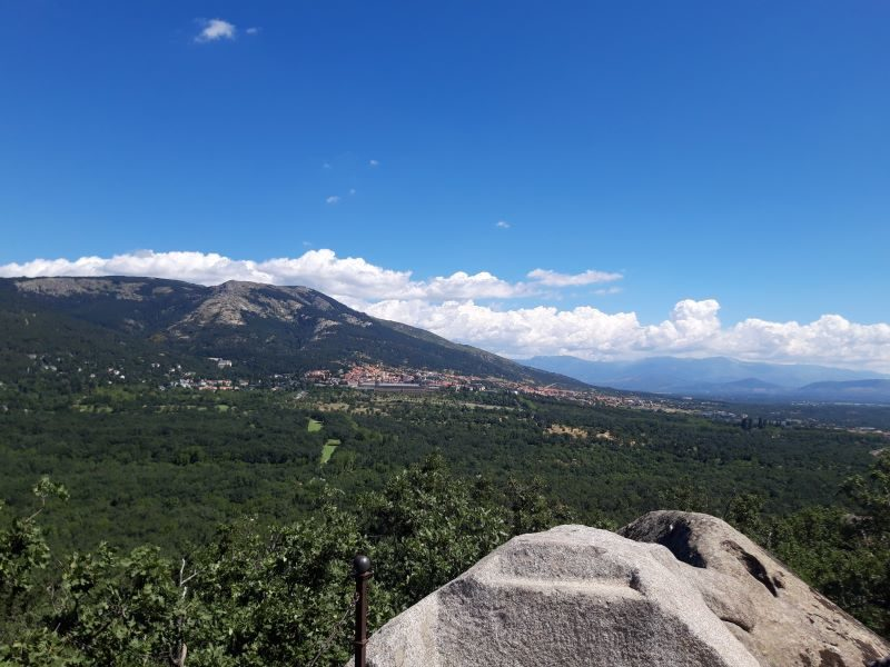 Randonnée autour de San Lorenzo del Escorial