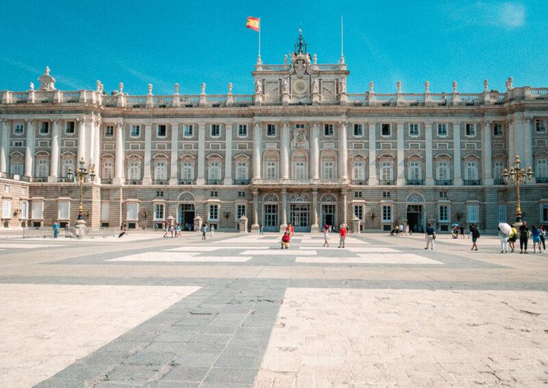 Visiter le Palais Royal madrid