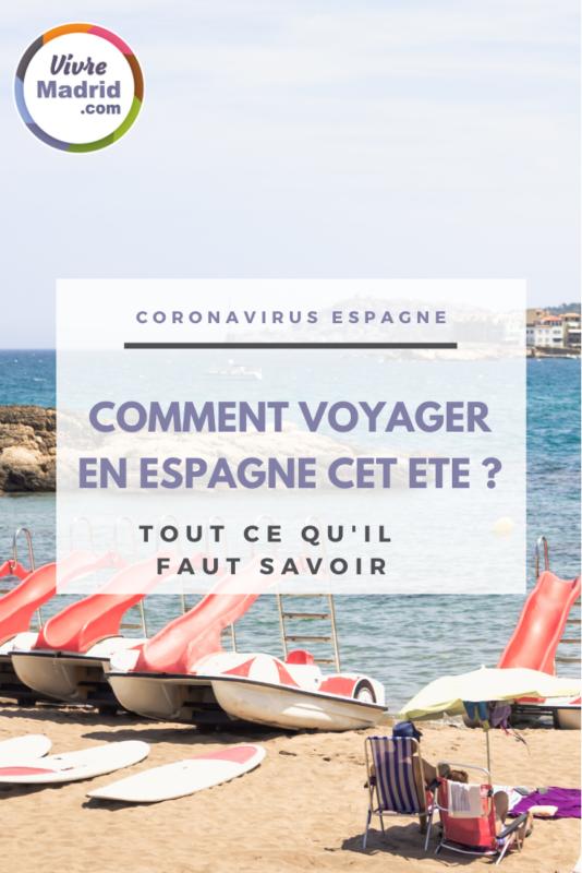 formulaire d'entrée en Espagne voyager en Espagne pendant le COVID