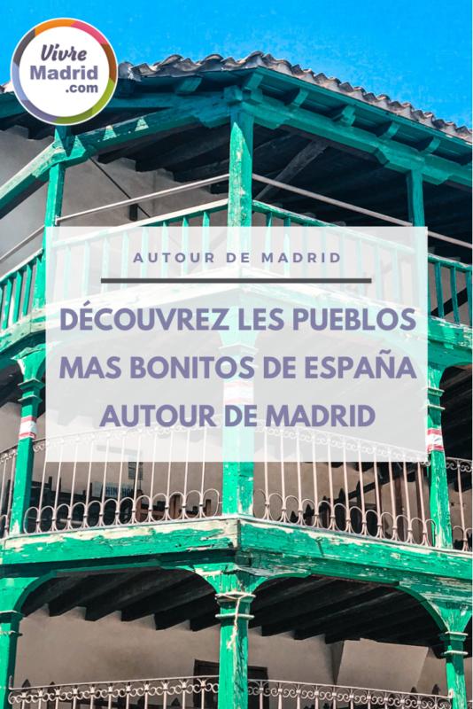 Les plus beaux villages d'Espagne autour de Madrid.