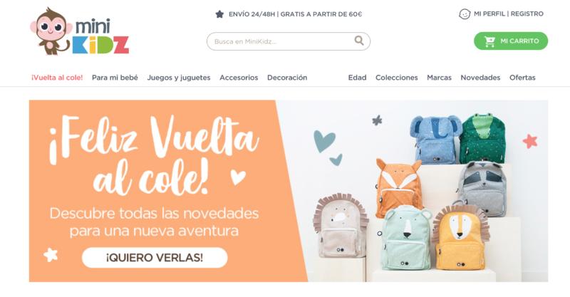 site web espagnol pour la rentrée des classes