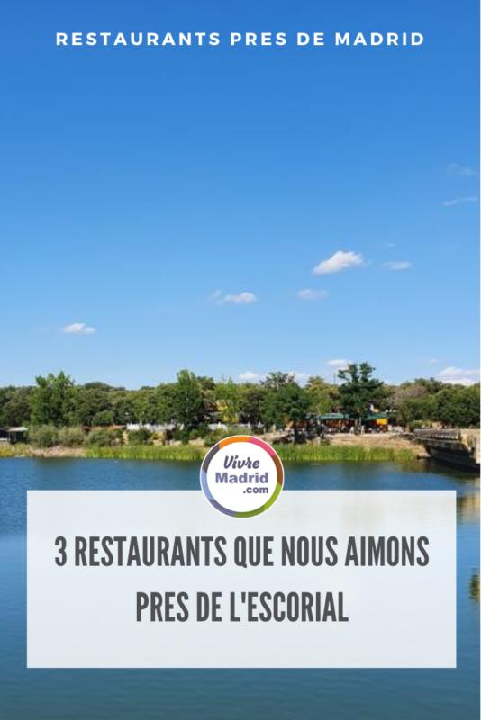 Restaurants près de l'escorial