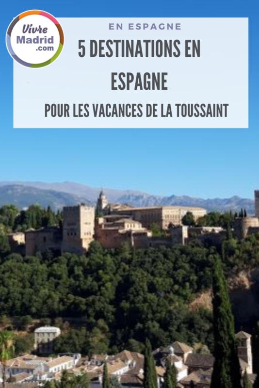 Visiter l'Espagne à la Toussaint