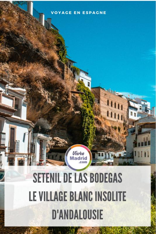 visiter séténils de las bodegas andalousie