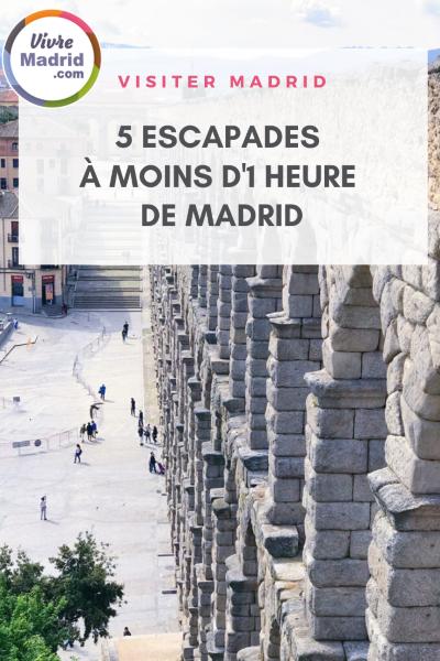 escapades à moins de 1h de Madrid