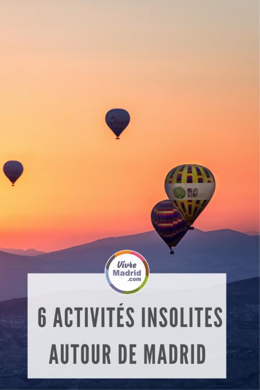 6 activités insolites autour de madrid