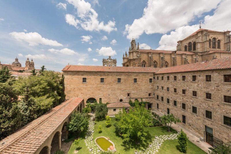 Visiter Salamanque - dormir au couvent San Esteban