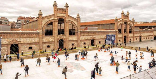 Les patinoires de Noël à Madrid et les environs