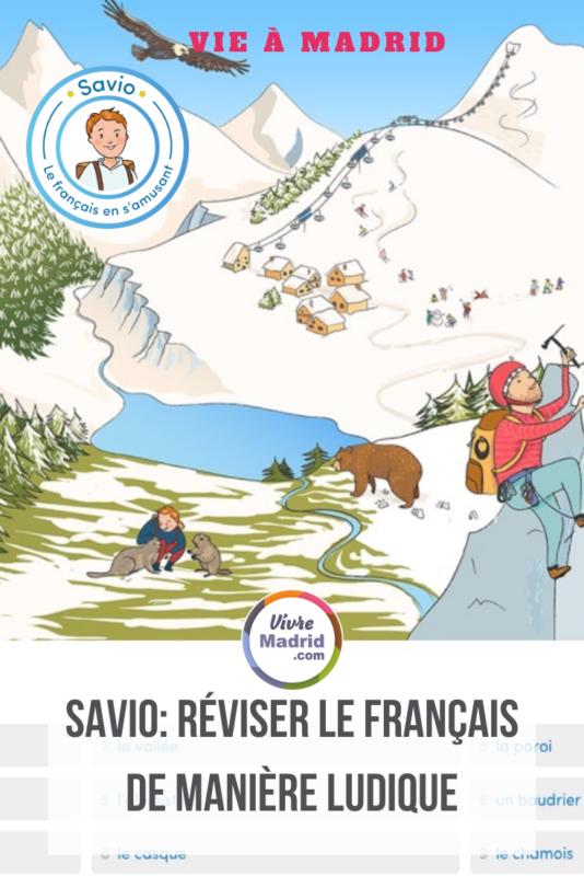 Madrid : Cours de français avec Savio