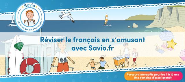 Savio méthode d'apprentissage du français