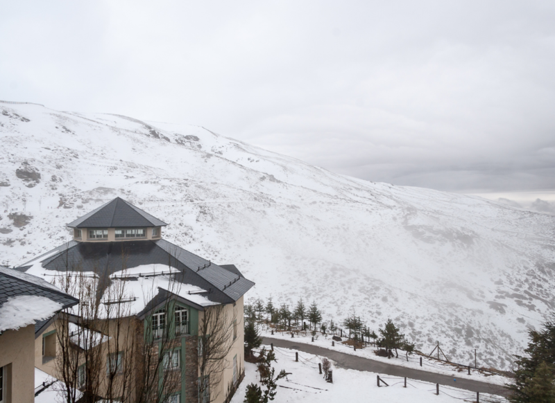 Sierra Nevada Station de Ski en Espagne