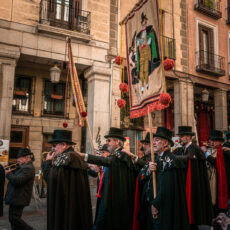 fête de la sardine en février à Madrid