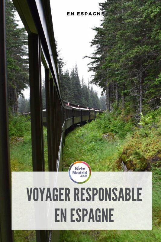 voyager responsable en espagne